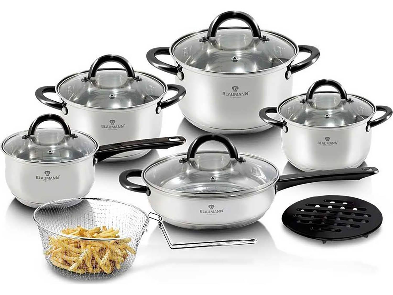 Blaumann Sada nádobí nerez 13 ks Gourmet Line BL-3245