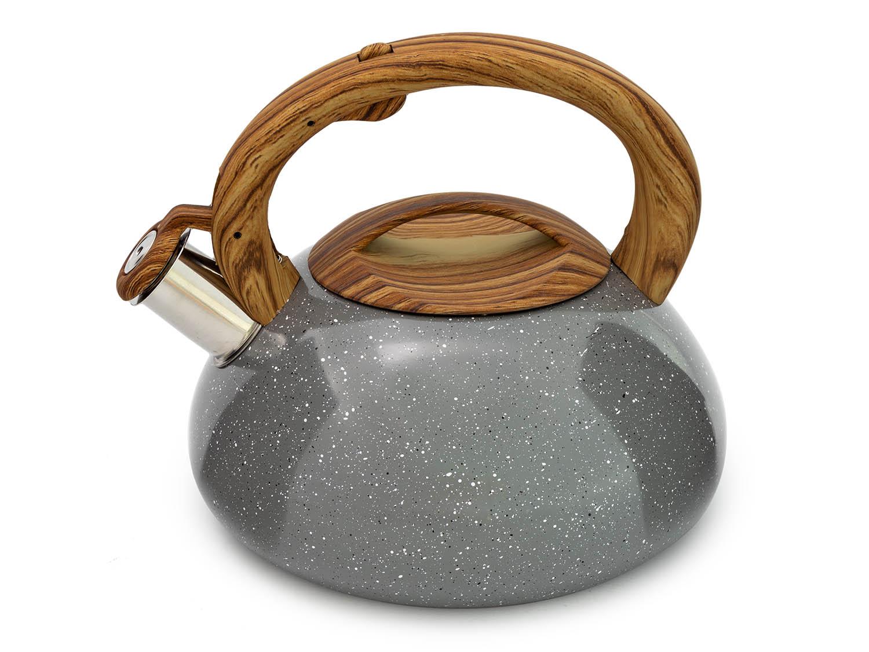PROPER Čajová konvice 3l prskáná šedá
